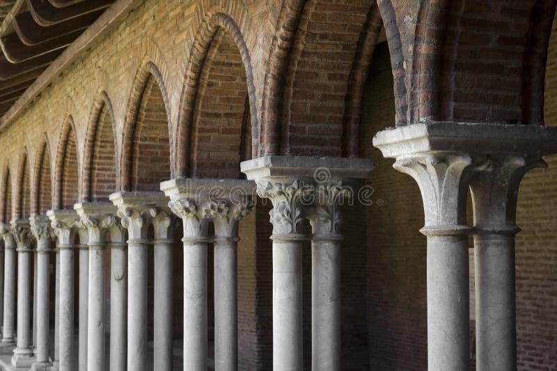 修道院, Couvent des Jacobins 图库摄影