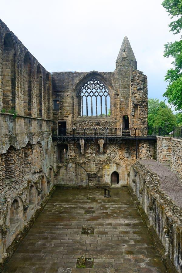 修道院, Dunfermline,苏格兰 库存照片