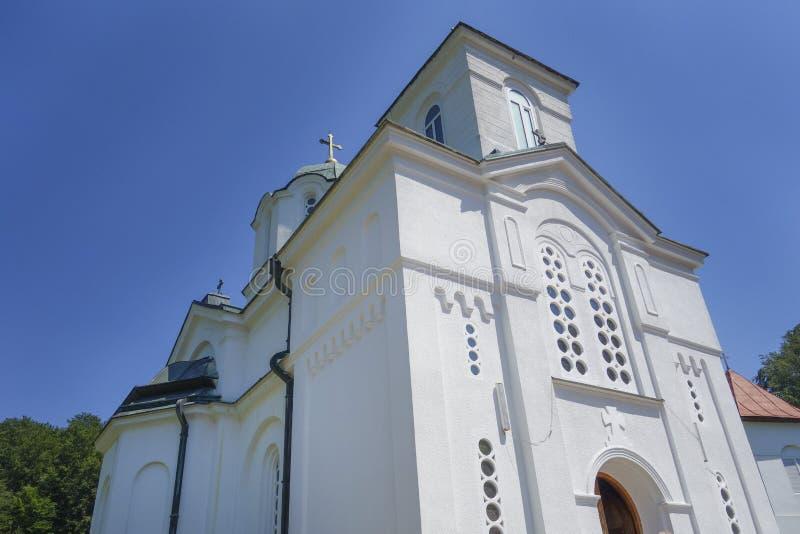 修道院Kaona在塞尔维亚 图库摄影