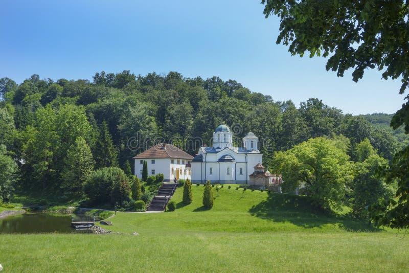 修道院Kaona在塞尔维亚 库存照片