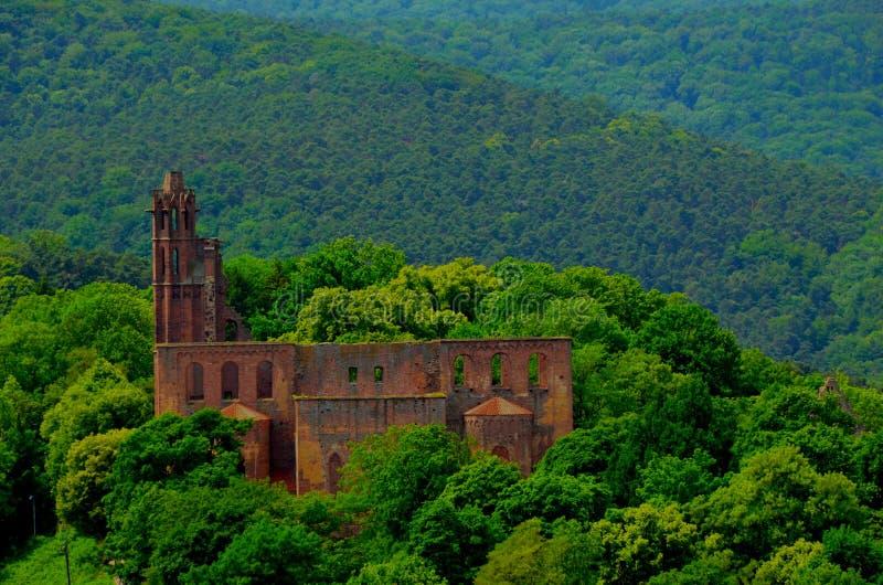 修道院limburg 免版税库存照片