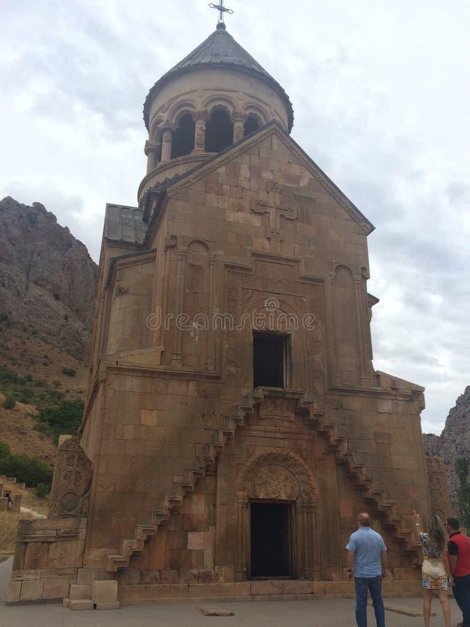修道院Noravanq 库存图片