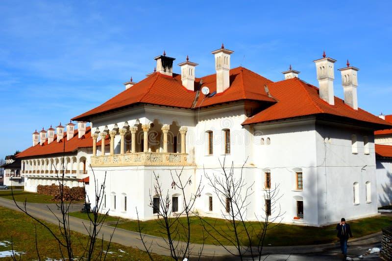 修道院Sambata Fagaras,特兰西瓦尼亚 免版税库存图片