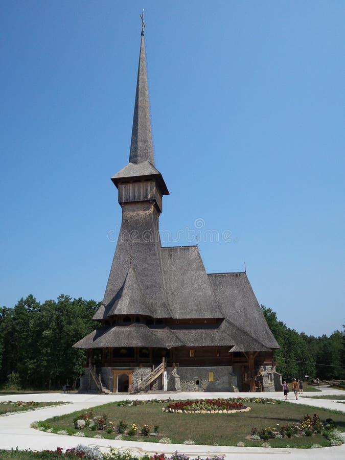 修道院Sapanta仙子 免版税库存照片