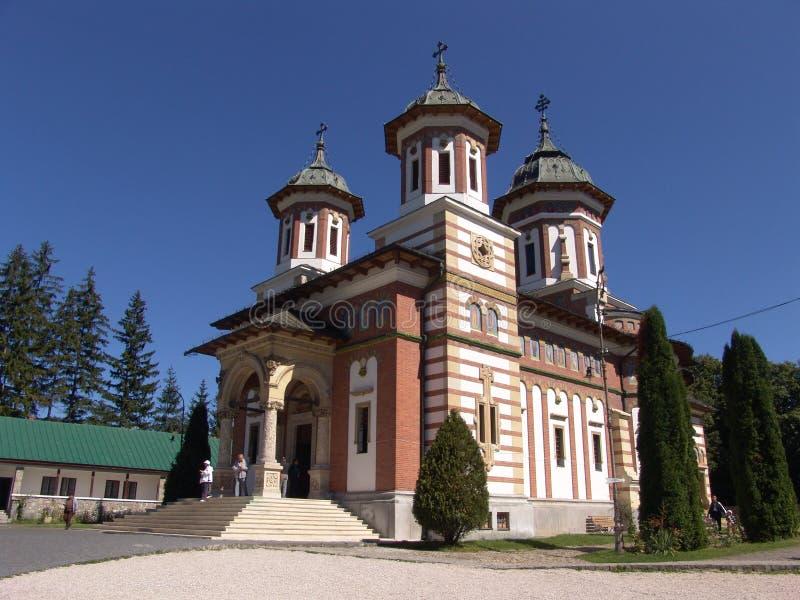 修道院sinaia 库存图片
