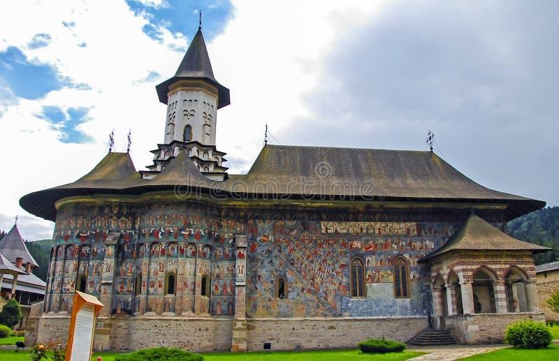 修道院Sucevita 库存图片