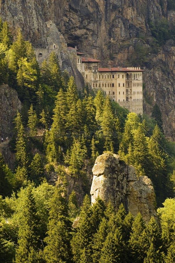 修道院sumela 库存图片