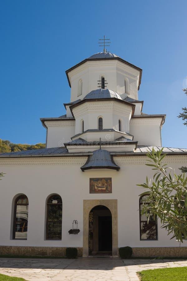 修道院tismana 免版税图库摄影