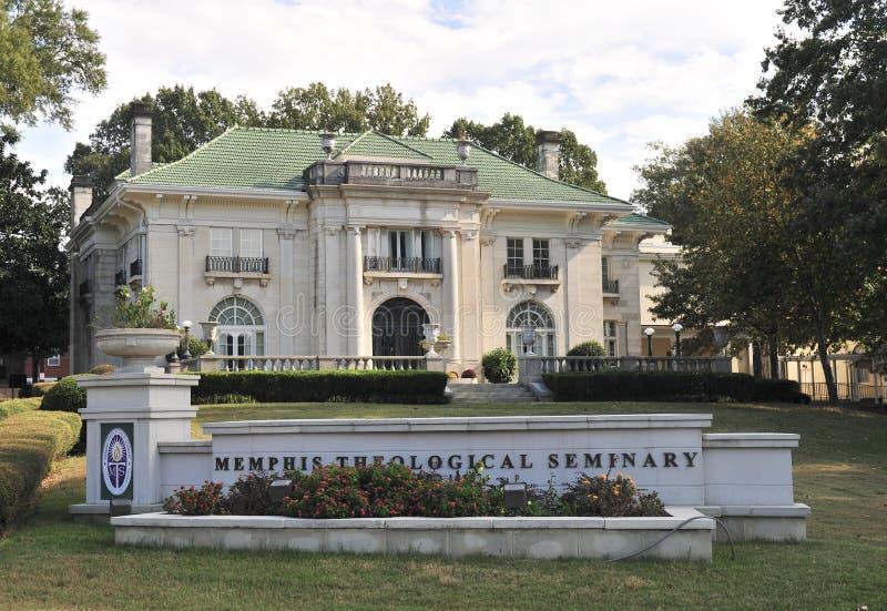 修建孟菲斯, TN的孟菲斯神学院 库存照片