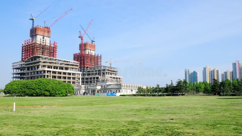 修建没有的摩天大楼 1 库存图片