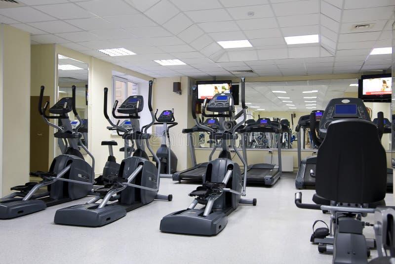 俱乐部健康踏车 库存照片