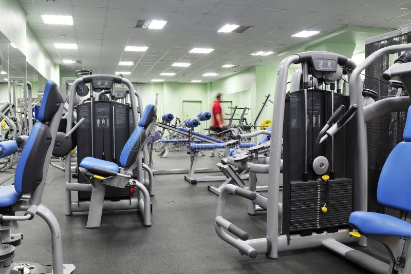 俱乐部健身人 免版税图库摄影