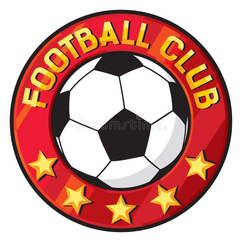 俱乐部橄榄球足球符号 皇族释放例证