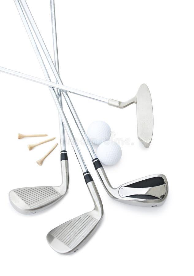 俱乐部高尔夫球 库存照片