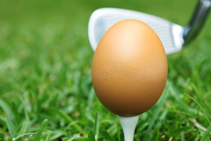 俱乐部高尔夫球 免版税图库摄影
