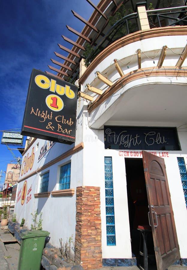 俱乐部1个夜总会和酒吧在菲律宾 库存图片