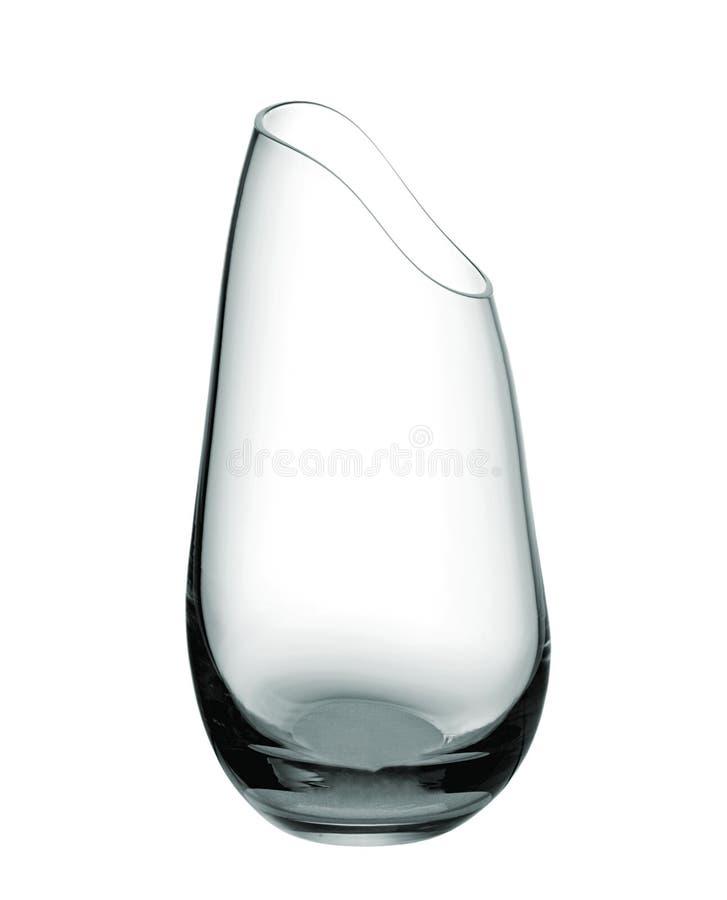 倒空玻璃花瓶 免版税库存图片