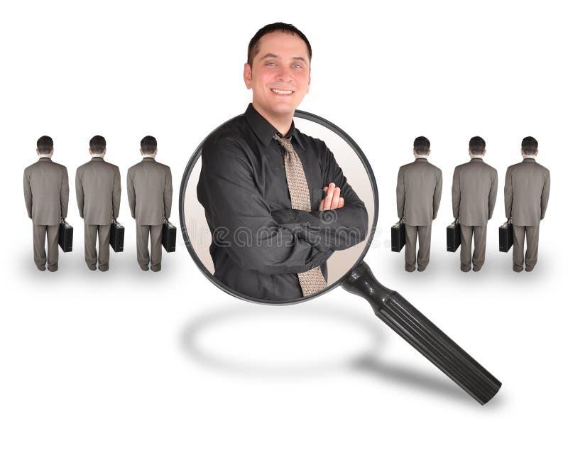 候选人雇员工作人 免版税库存照片
