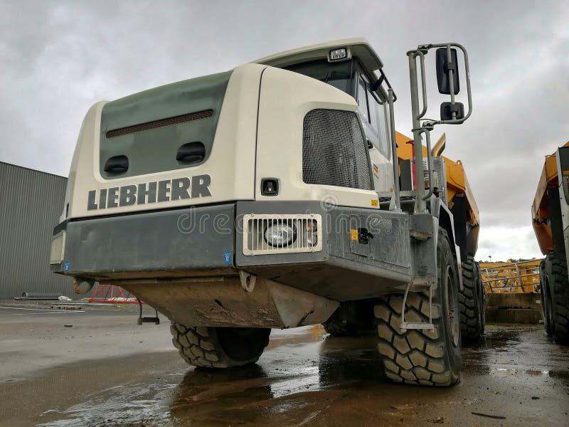 倾销者卡车 免版税库存图片