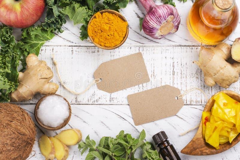 假丝酵母饮食食物 免版税图库摄影
