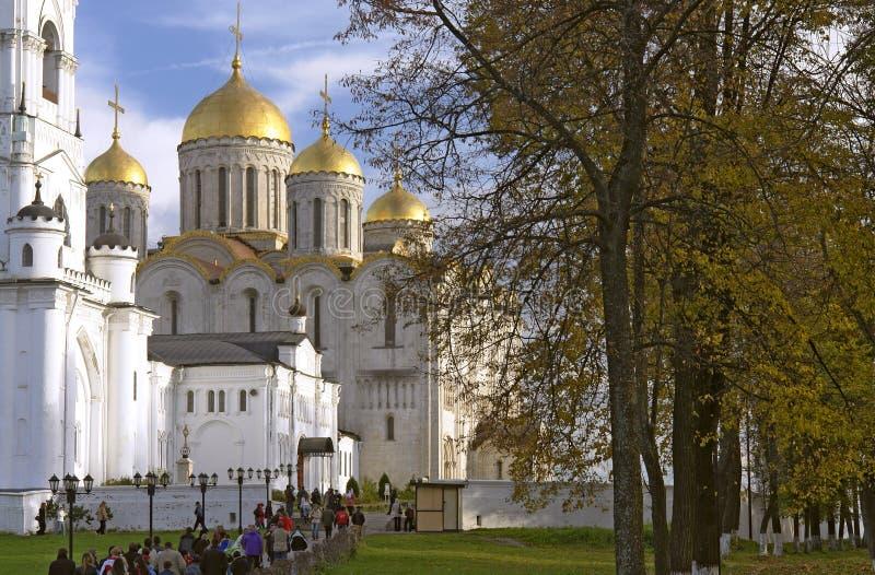 假定大教堂俄国vladimir 库存照片