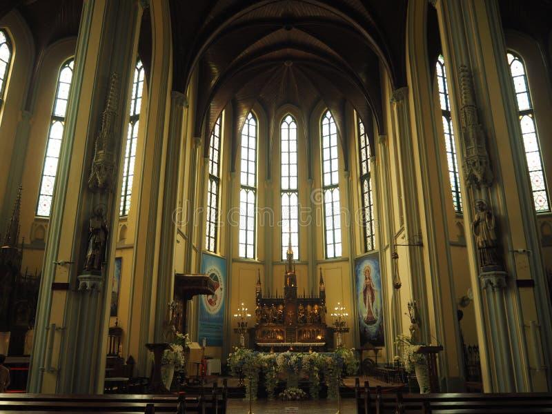 假定大教堂的圣玛丽,雅加达 图库摄影