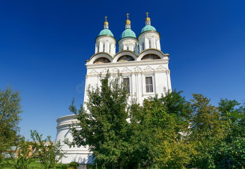 假定的大教堂在克里姆林宫阿斯特拉罕.图片