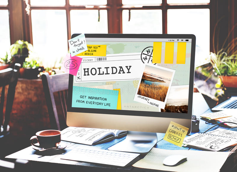 假日旅途旅行旅行概念 图库摄影