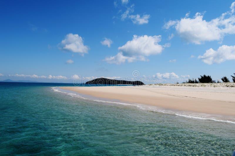 假日海岛 库存图片