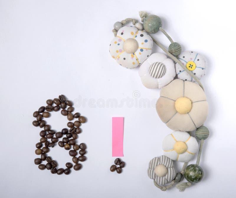 假日身份证号码烤咖啡豆8  免版税库存图片