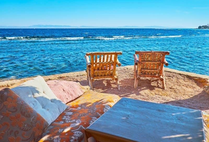 假期在西奈,埃及 免版税库存照片