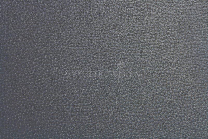 假灰色皮革模式 免版税图库摄影