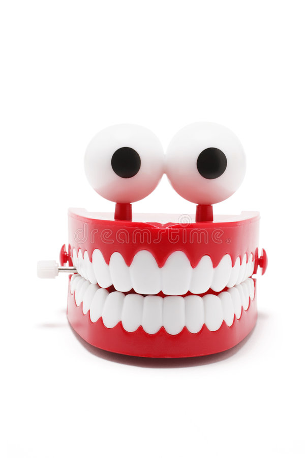 假牙玩具 免版税图库摄影