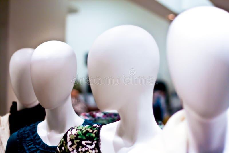 假的时装模特设计 免版税库存图片