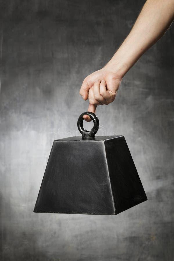 假重量 免版税库存照片