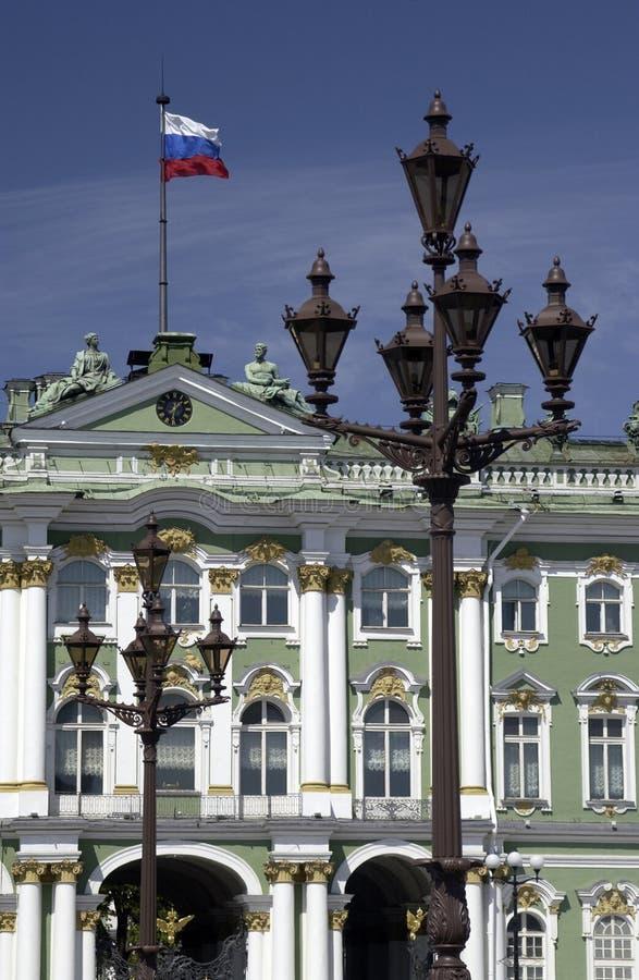 偏僻寺院彼得斯堡俄国st 库存照片