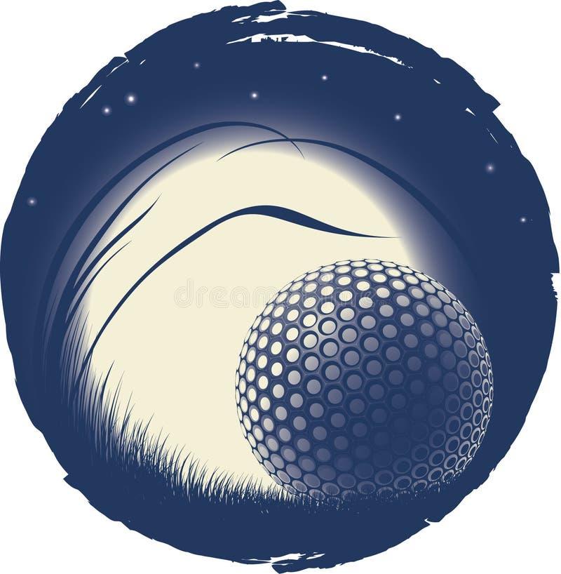 偏僻球的高尔夫球 免版税库存照片