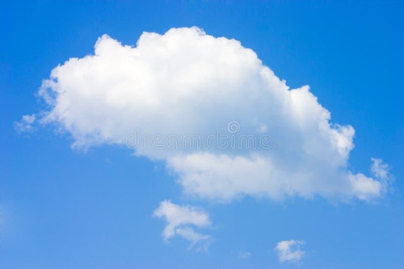 偏僻的云彩 库存照片