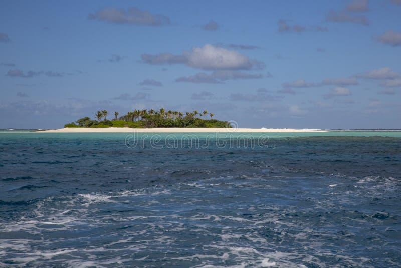 偏僻的海岛 库存图片