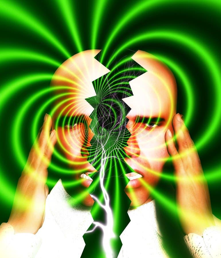 偏头痛6 向量例证