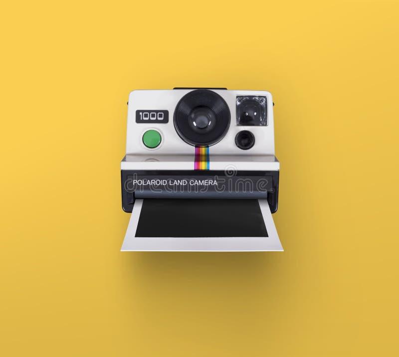 偏振光相机 免版税库存照片