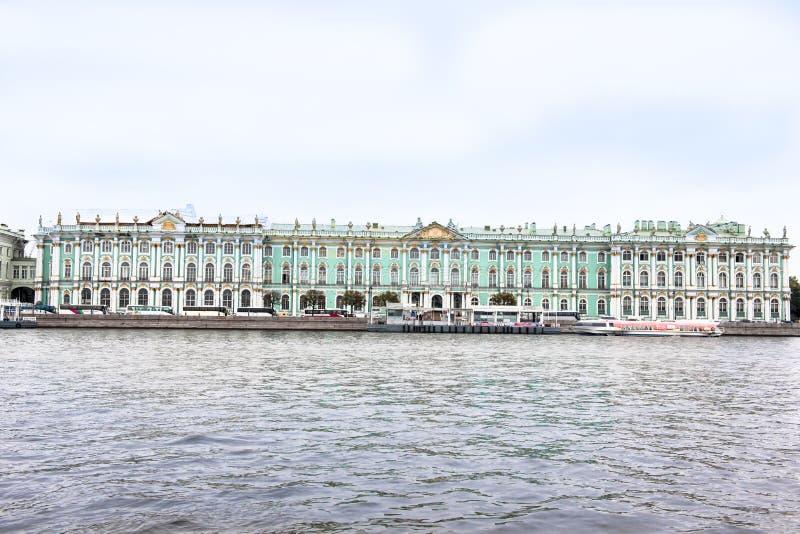 偏僻寺院,圣彼得堡 免版税库存照片