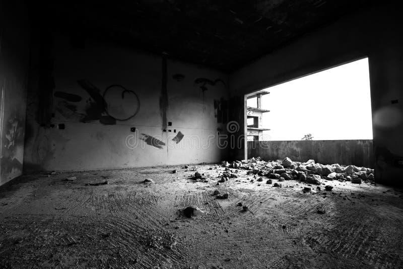 偏僻的空间 库存照片