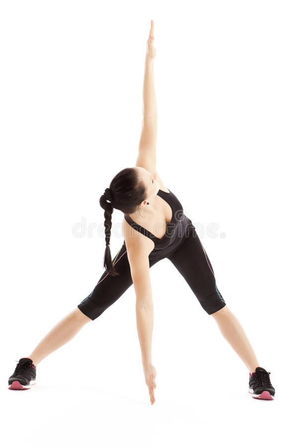 有氧锻炼 免版税库存图片