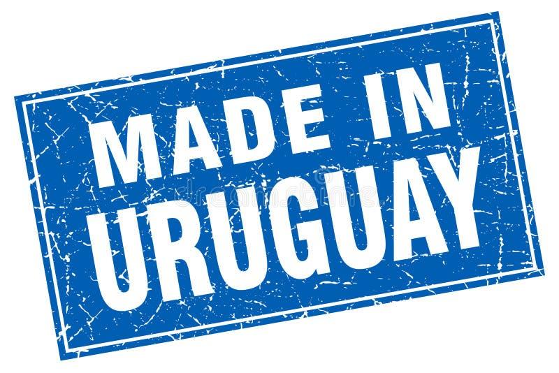 做在乌拉圭邮票 库存例证