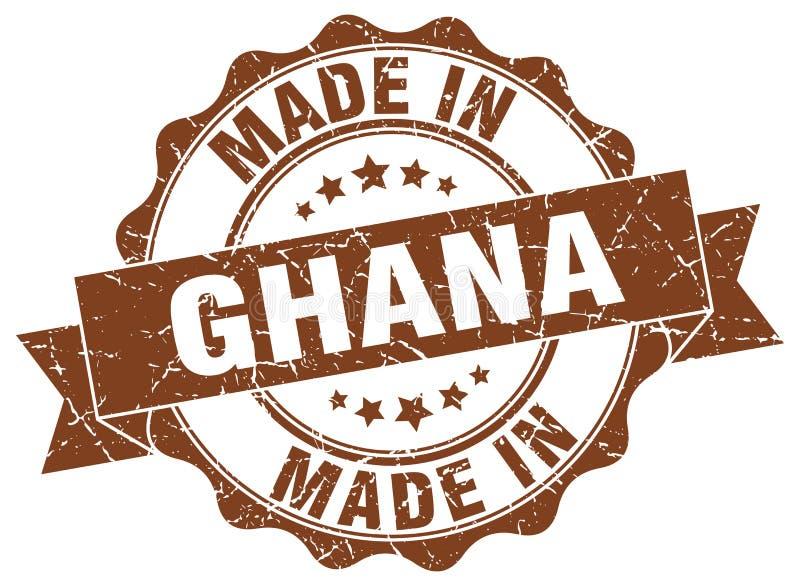做在加纳封印 库存例证