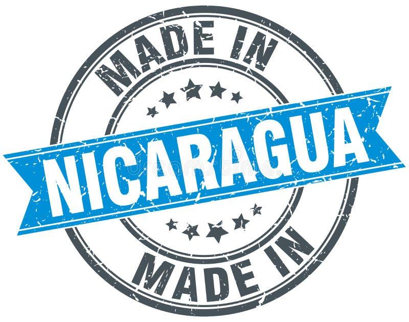 做在尼加拉瓜邮票 皇族释放例证