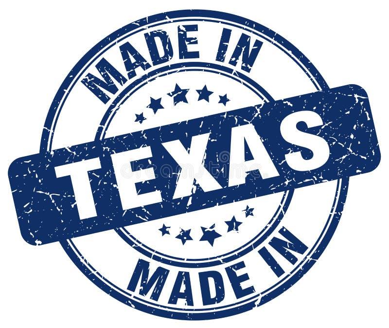 做在得克萨斯邮票 库存例证