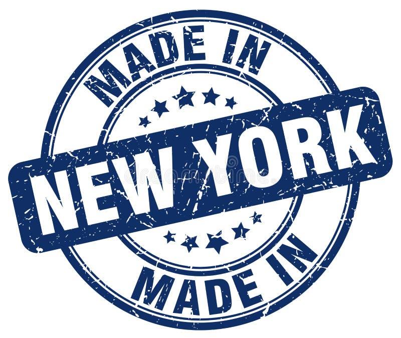 做在纽约邮票 皇族释放例证