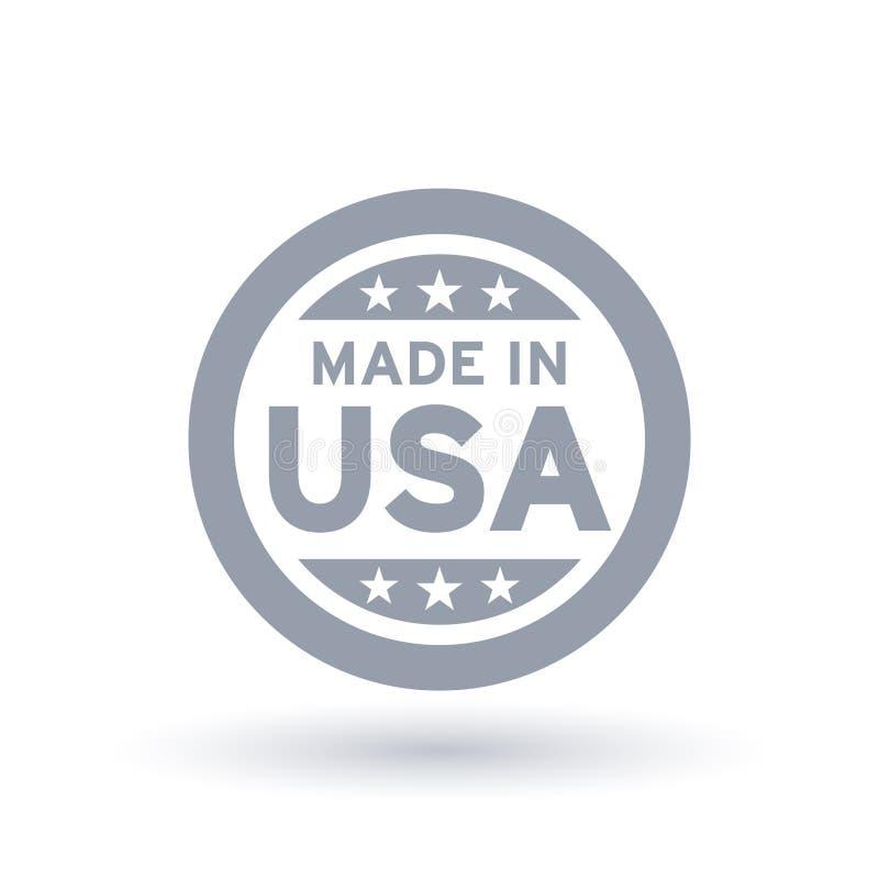 做在美国象 美国产品标志 皇族释放例证